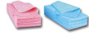 50 Pack Blue - J Cloths effect Multi Purpose Cleaning Cloths